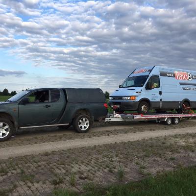 Abschelpp-Service auch für Transporter